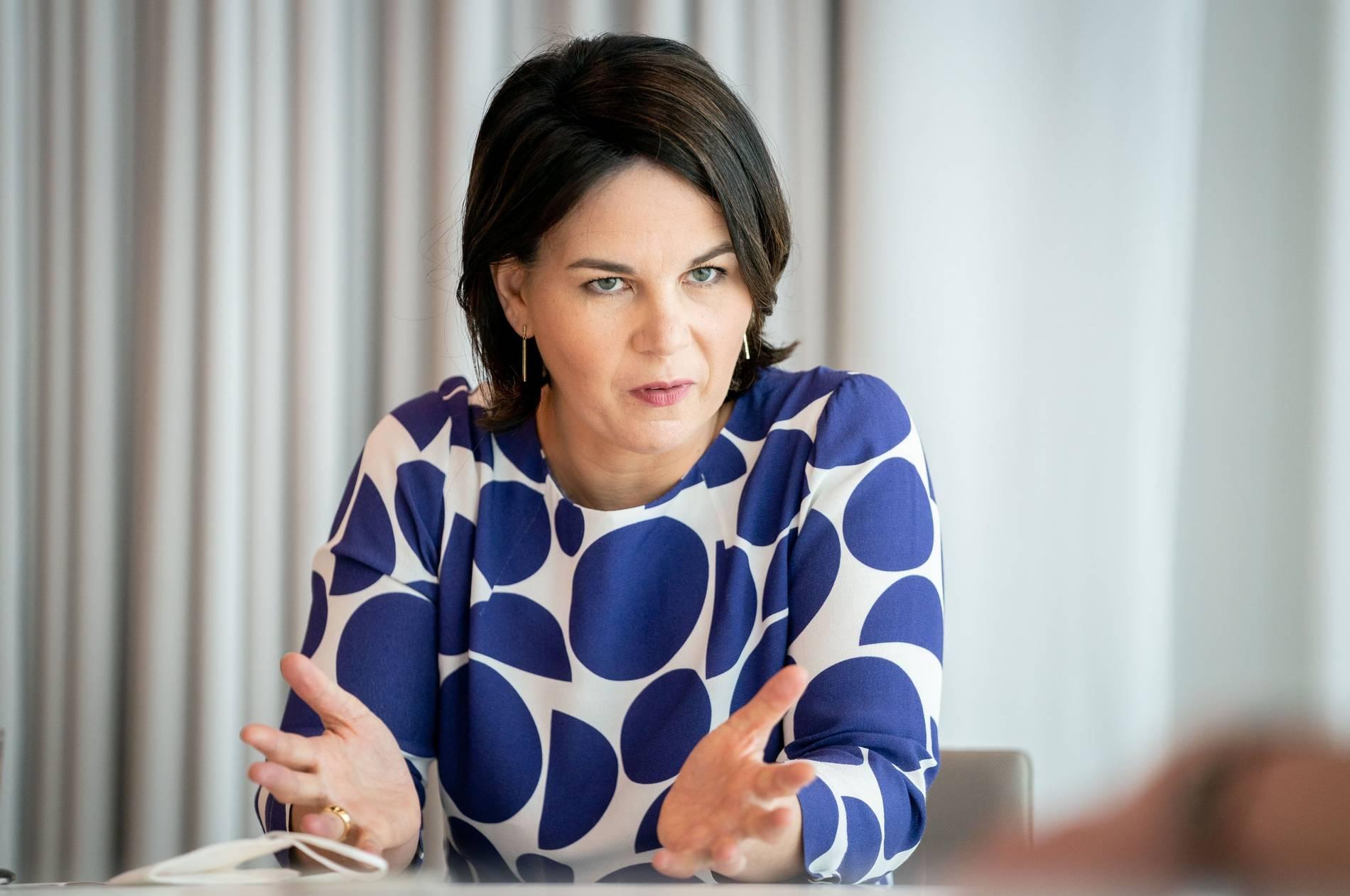 Korrigierte Details im Lebenslauf Grünen-Kanzlerkandidatin Annalena Baerbock