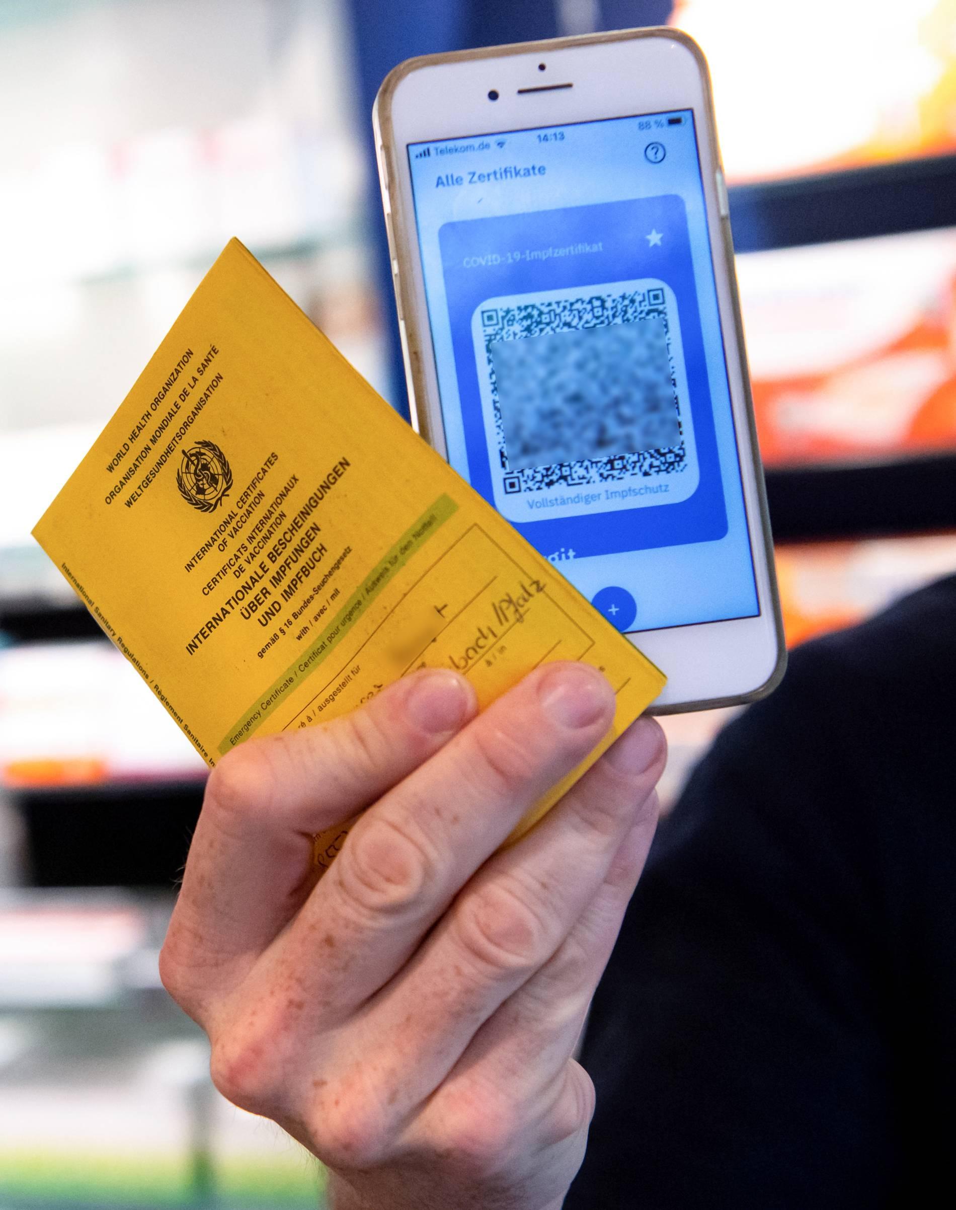 Digitaler Impfnachweis Gultigkeit Datenschutz Funktion