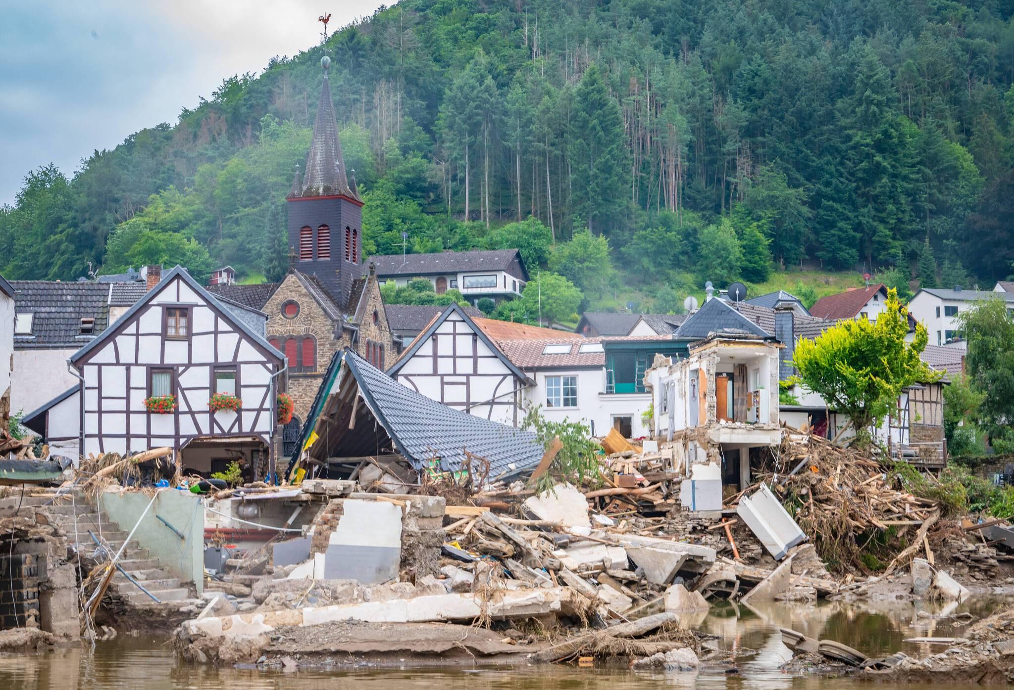 Unwetter und Hochwasser im Kreis Ahrweiler: Bilder