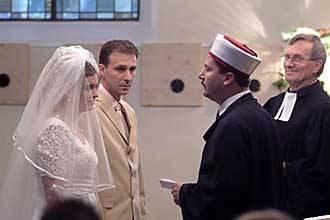 Eine Deutsch Turkische Hochzeit In Der Kirche