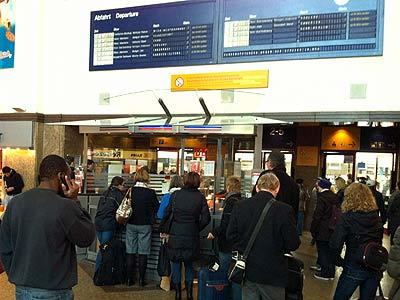 Bahnstreik Bonn