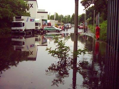 Unwetterwarnung Bonn