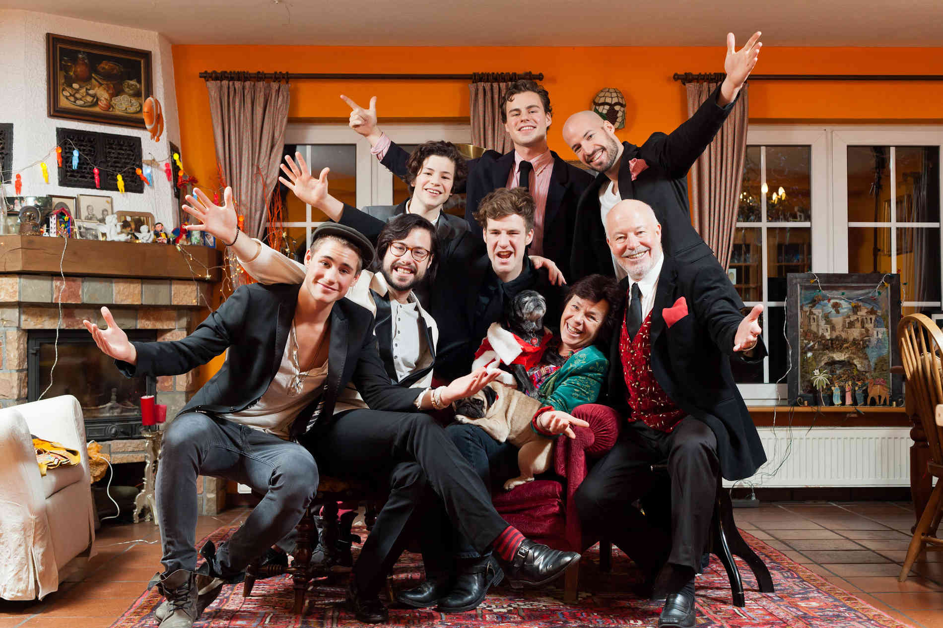 Mockridge Kinsky Wie Die Familie Mit Ihren Sechs S U00f6hnen