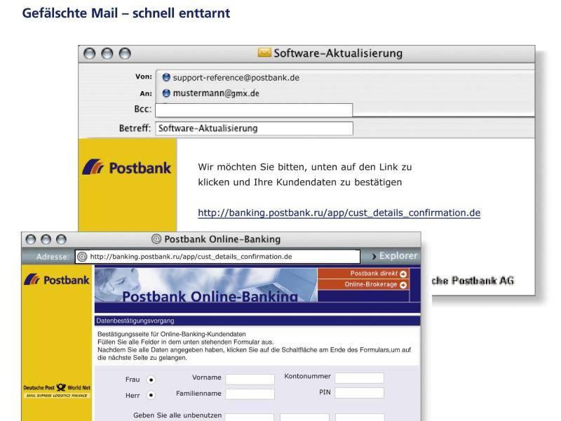 Phishing Mail Sparkasse