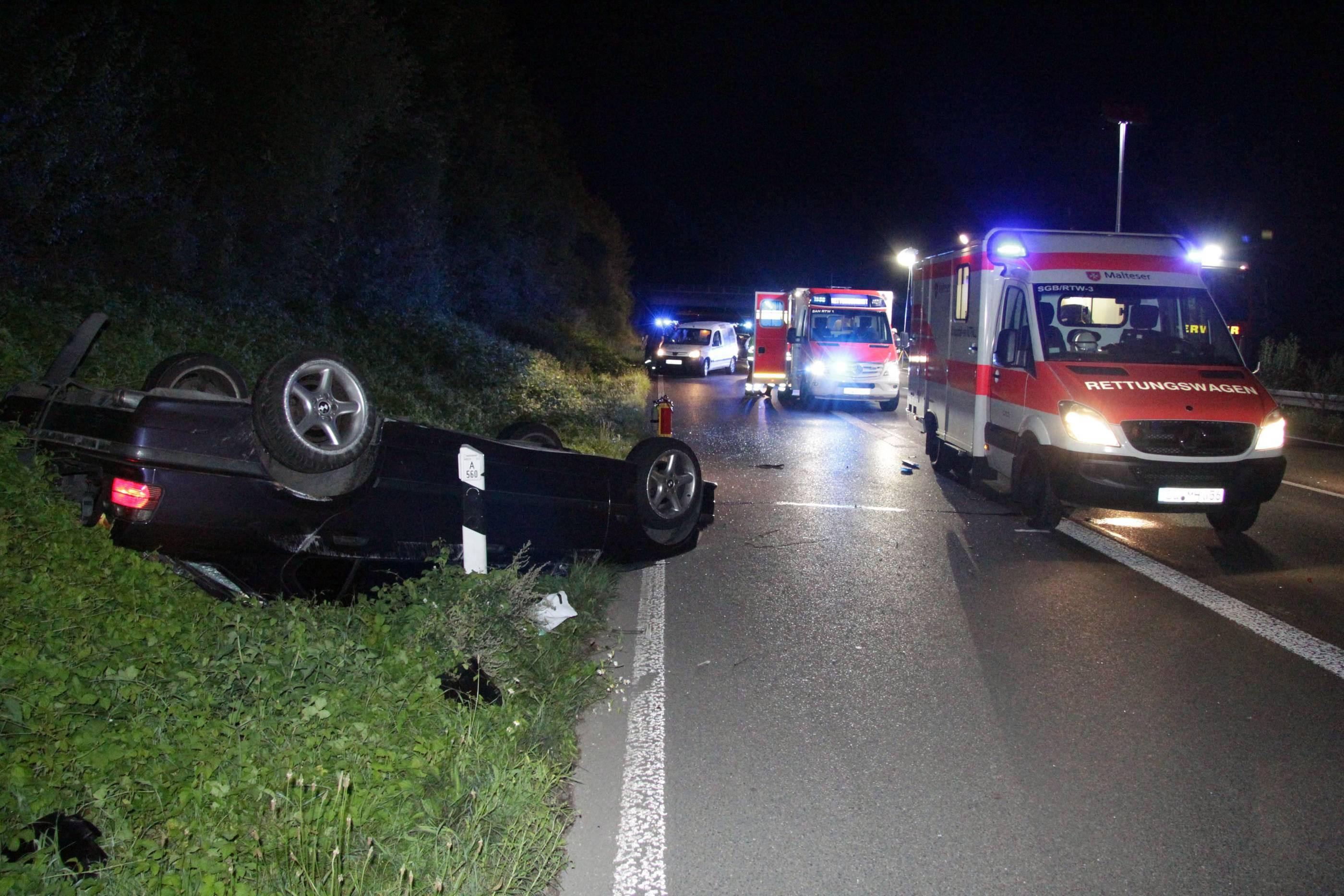 A560 Unfall