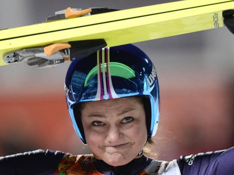 Skispringerin