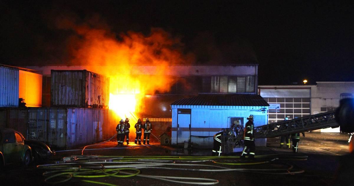Feuer In Troisdorf