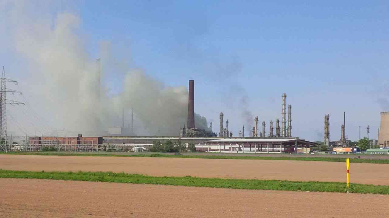 Brand In Wesseling