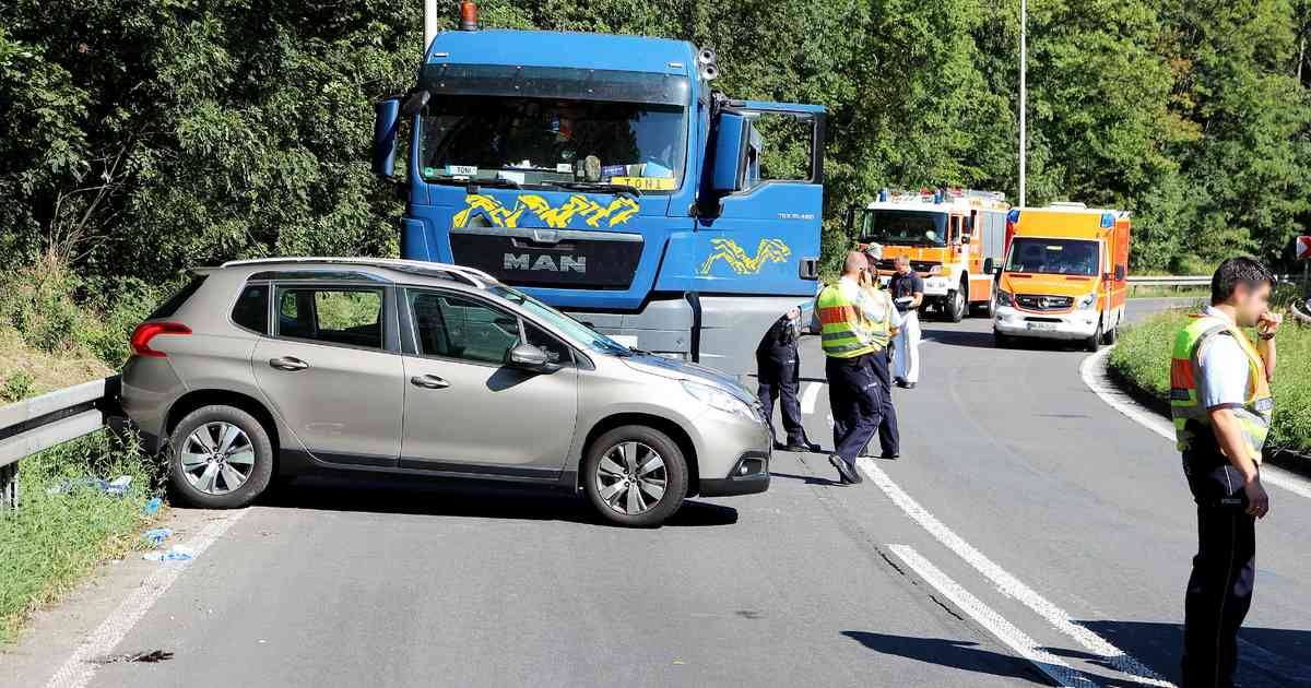 Unfall A565 Heute