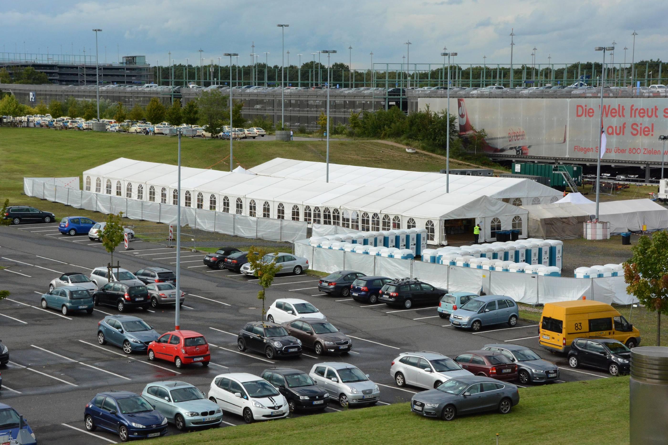 Flughafen Köln Flüchtlinge