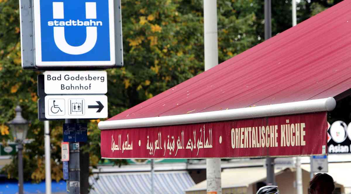 arabische reklame in bad godesberg verwaltung fast alle