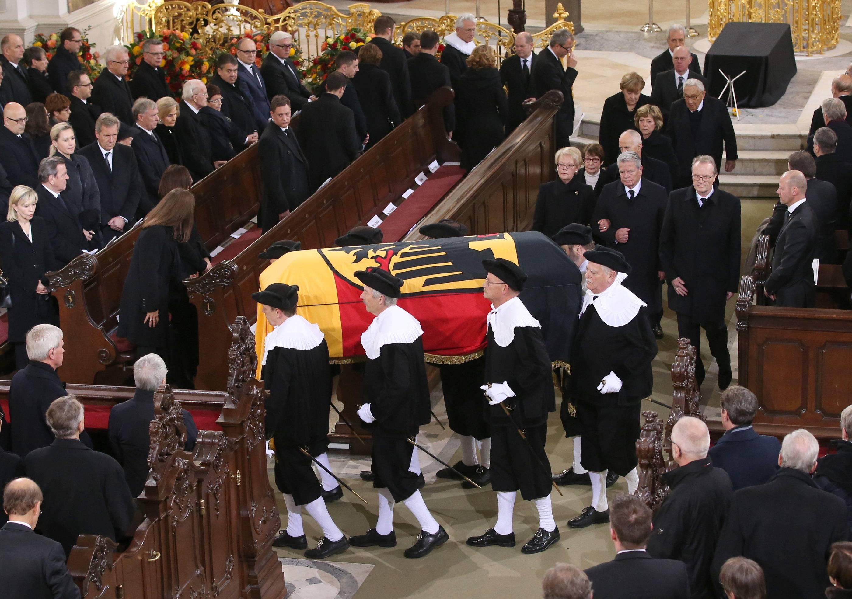 Abschied Helmut Schmidt