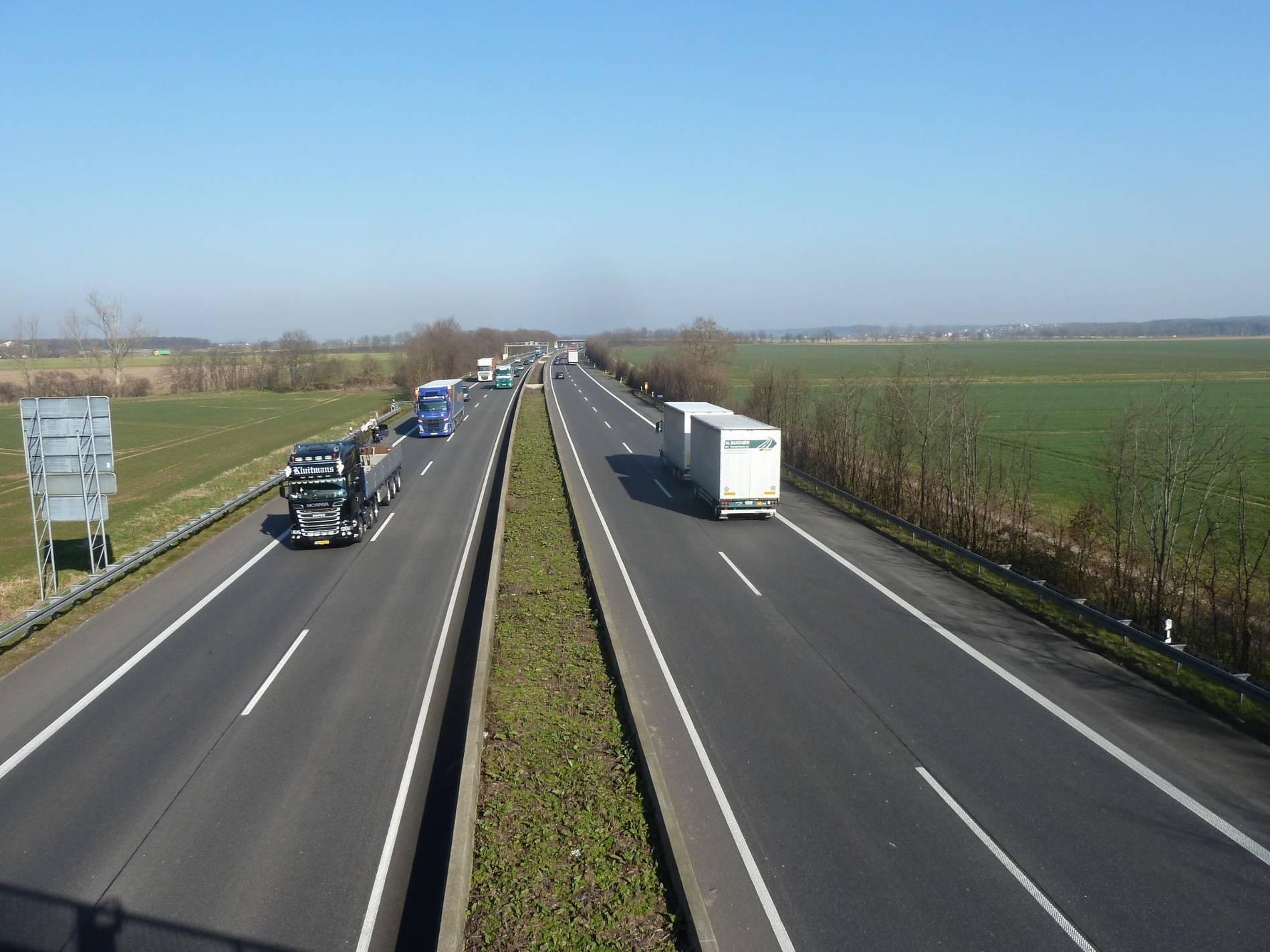 Verkehr A 61