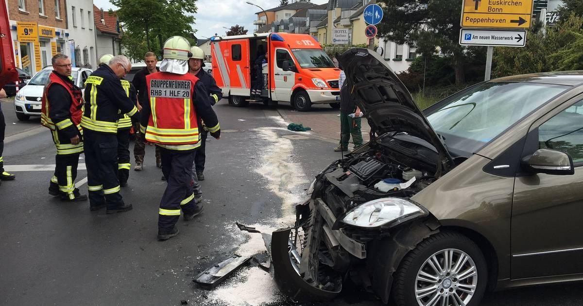 Unfall Aachener Straße