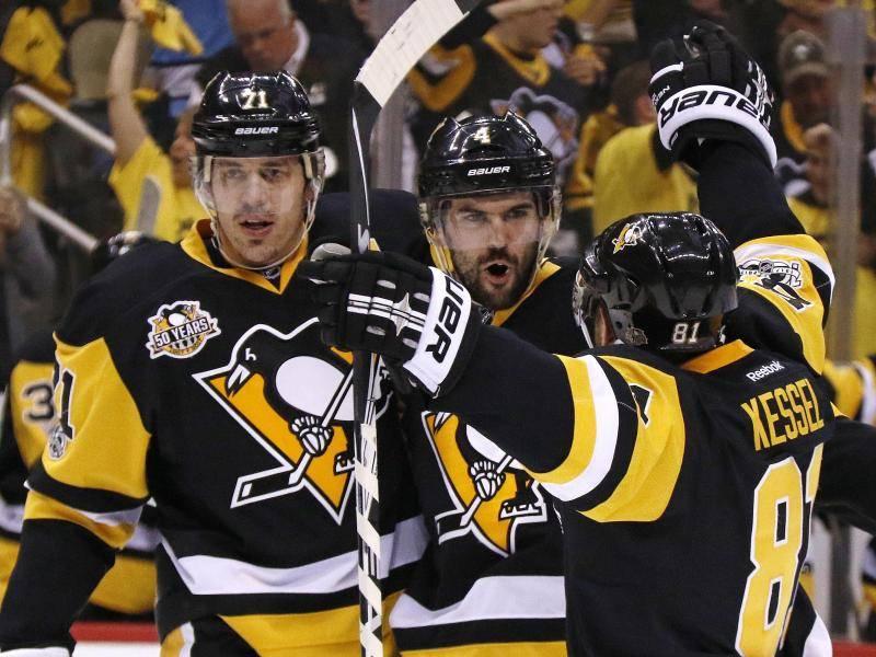 NHL-Playoffs: Pittsburgh Mit Kühnhackl Vor Einzug Ins
