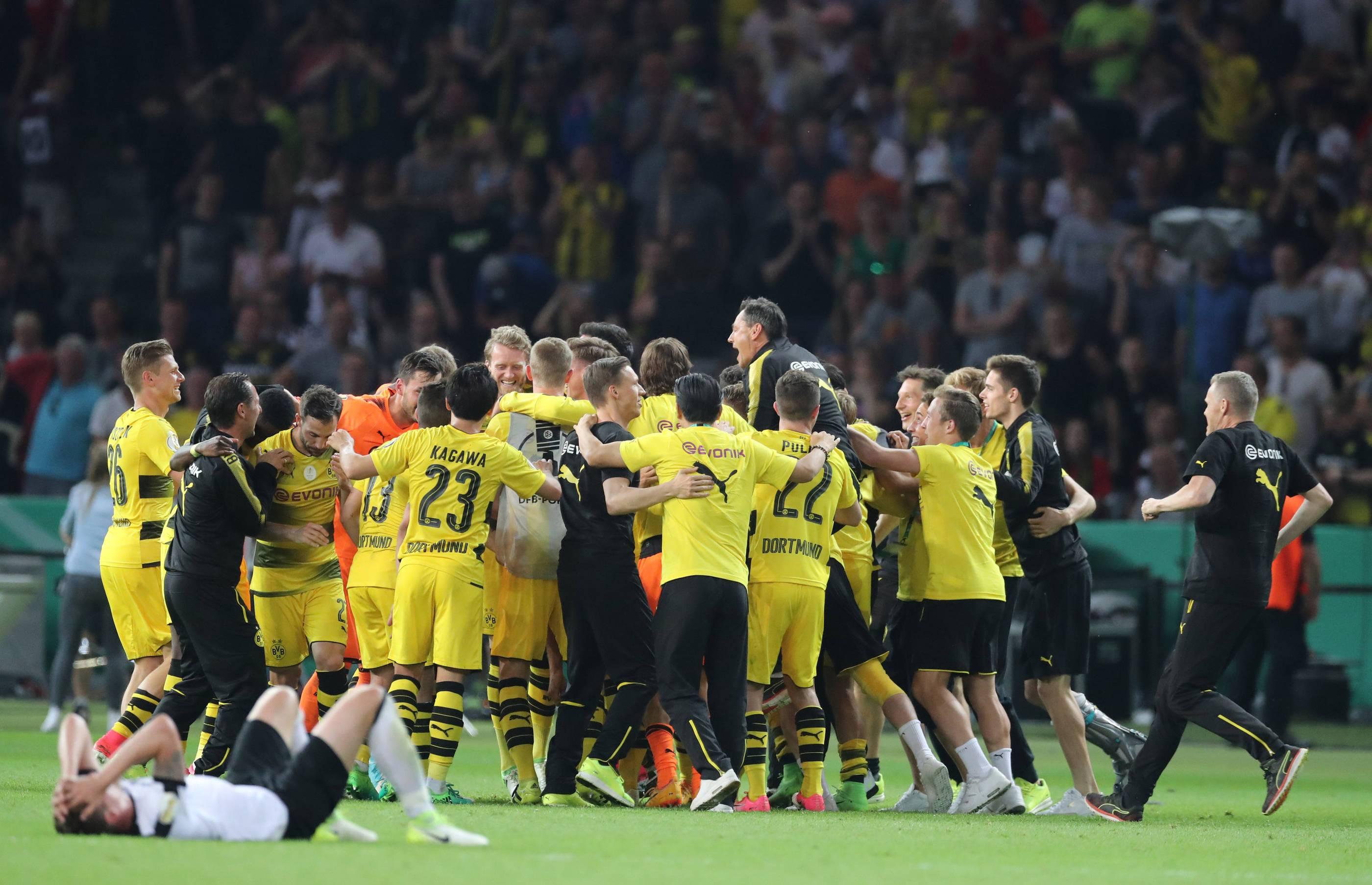 DFB-Pokal-Finale Borussia Dortmund - Eintracht Frankfurt