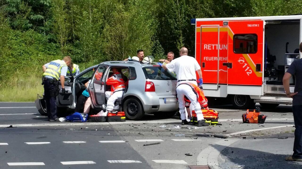 Siegburg Unfall