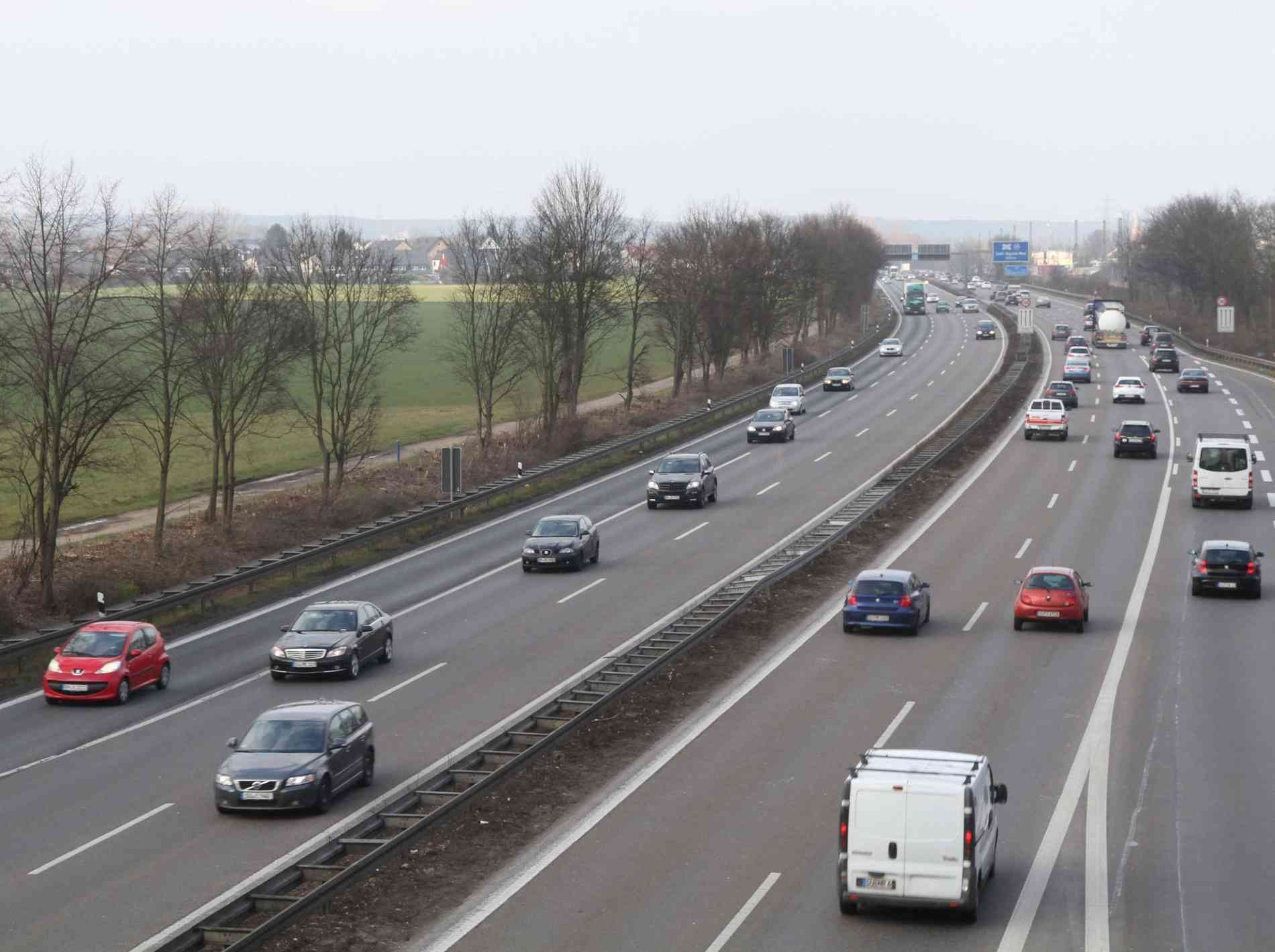 A59 Gesperrt