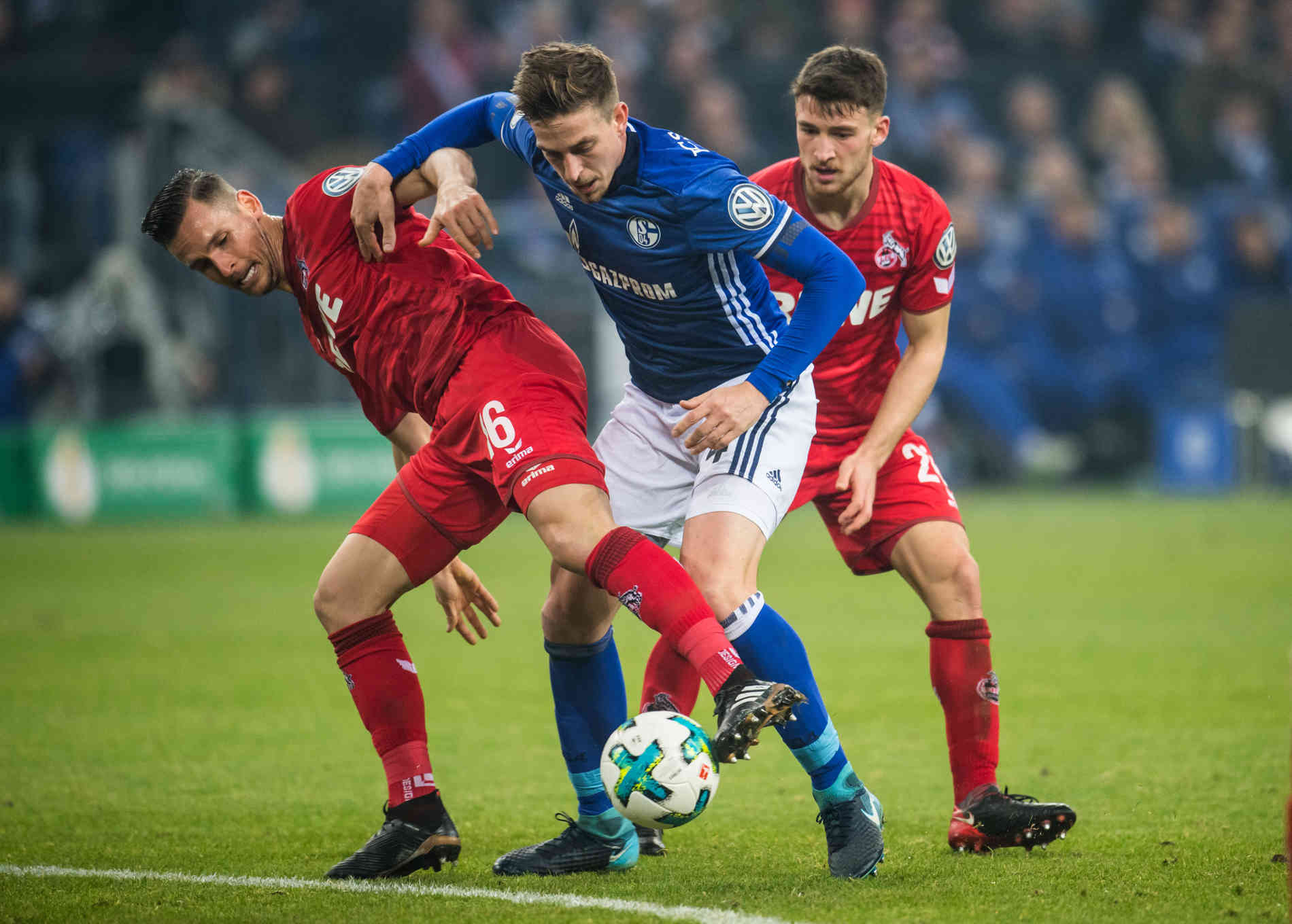 Pokalspiel Schalke Köln