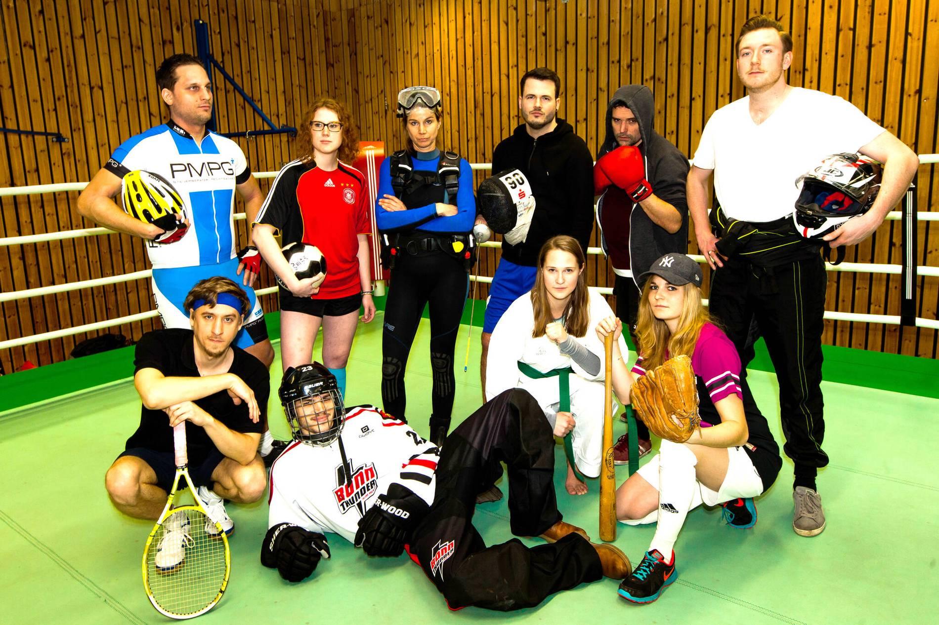 Sportarten Mit G