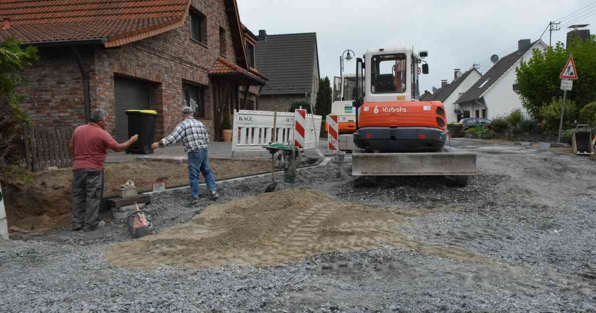 Kosten Straßenbau
