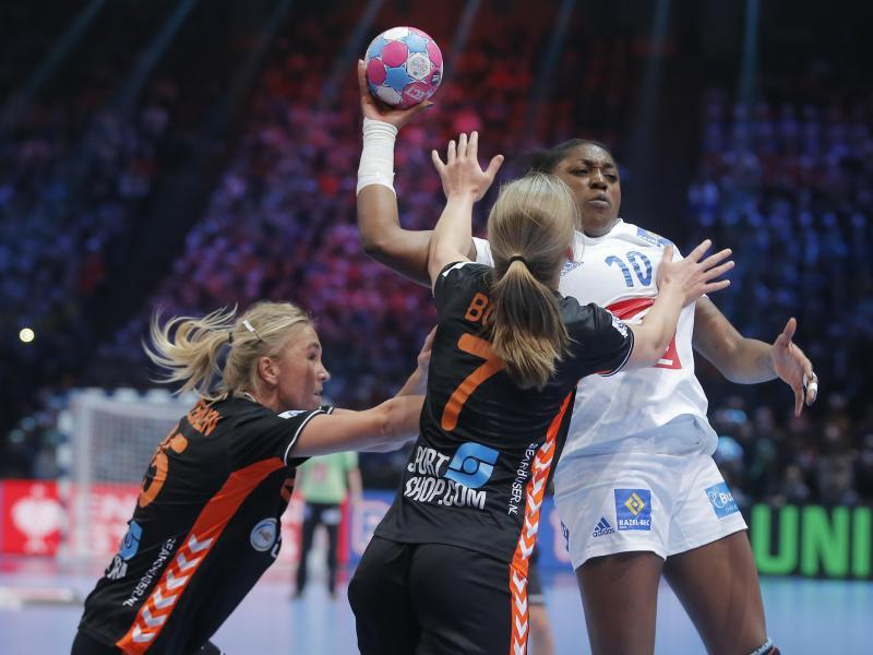 Frankreich Russland Handball