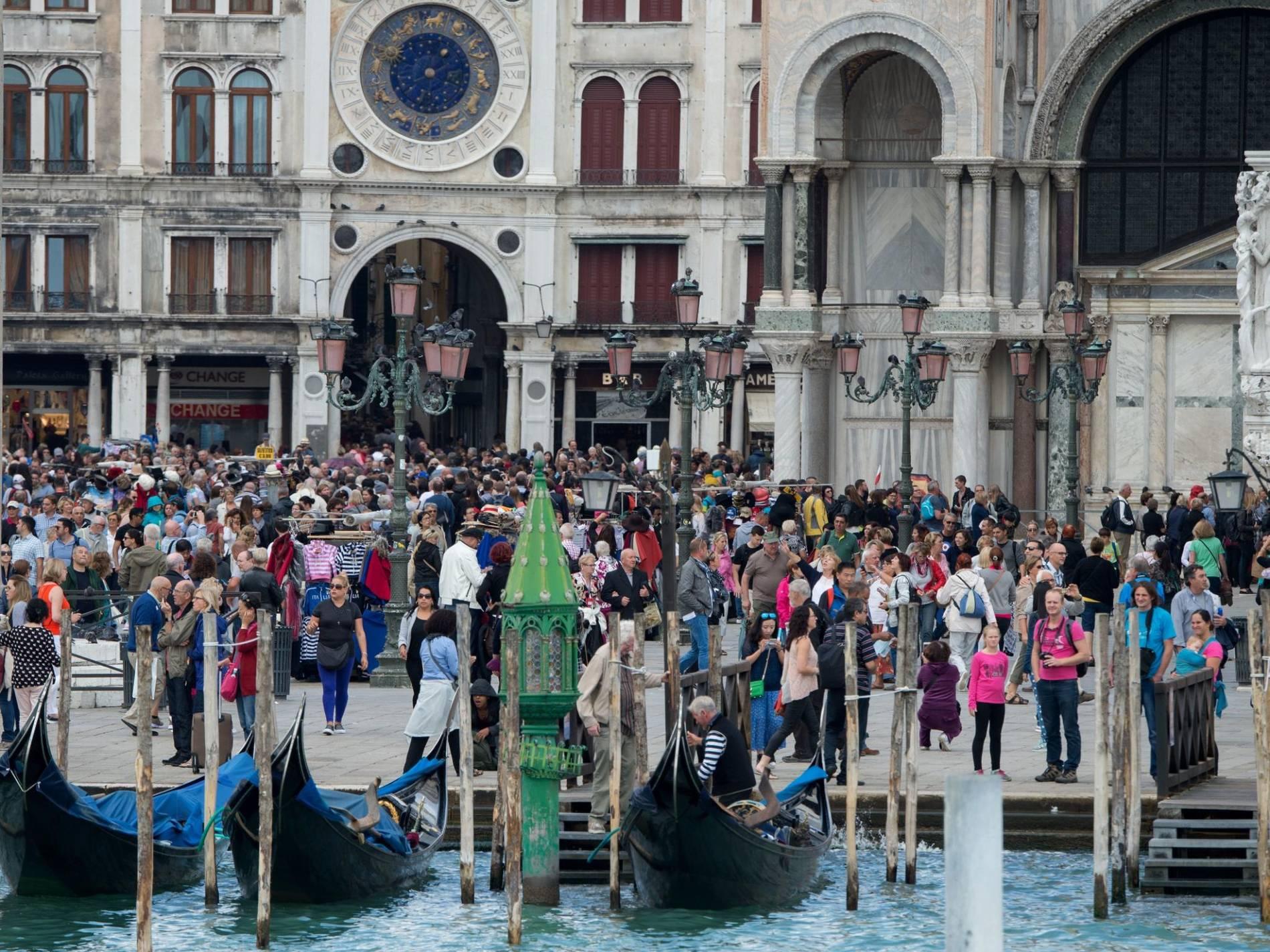 Venedig Massentourismus