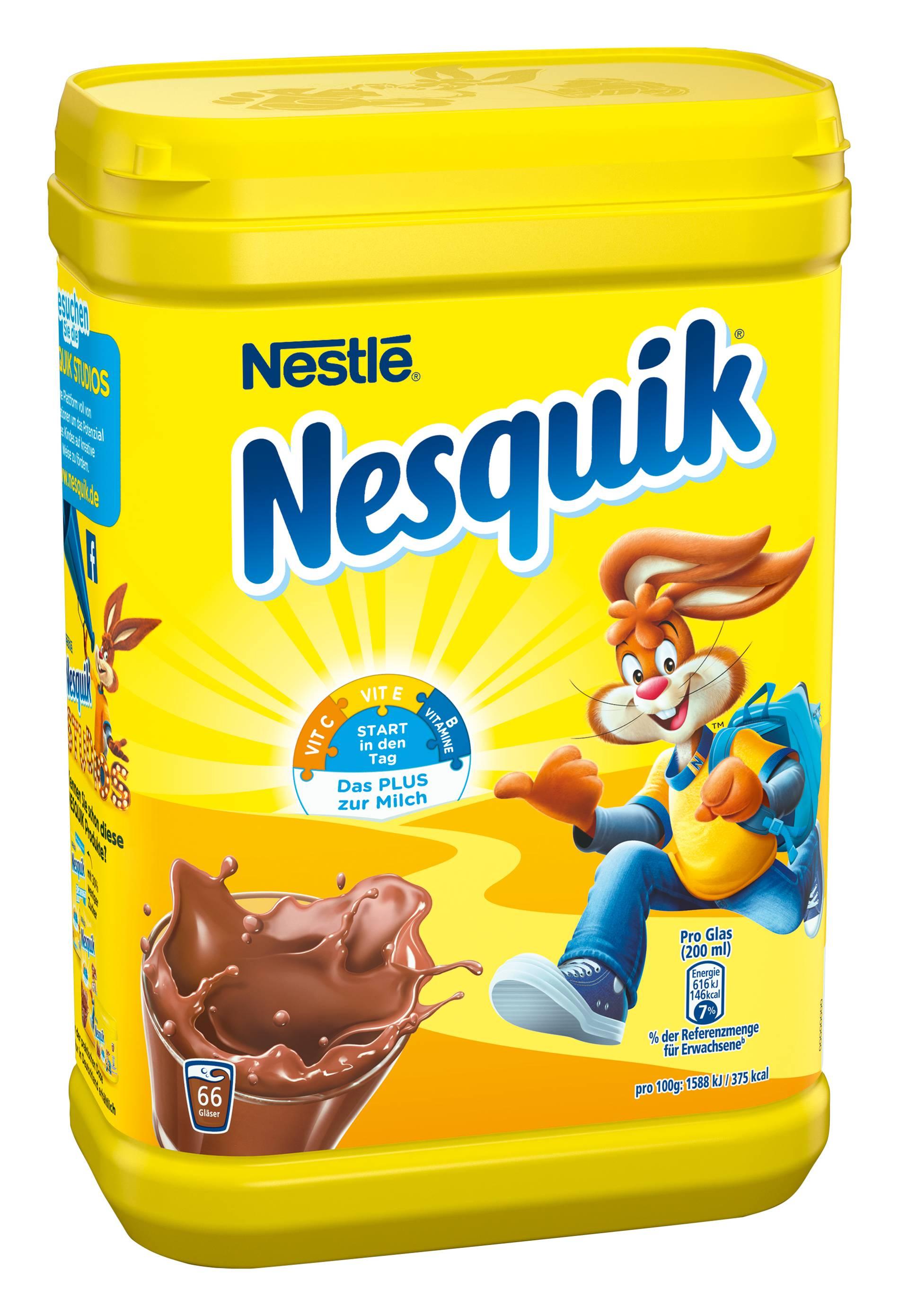 Nesquik Kakao Test