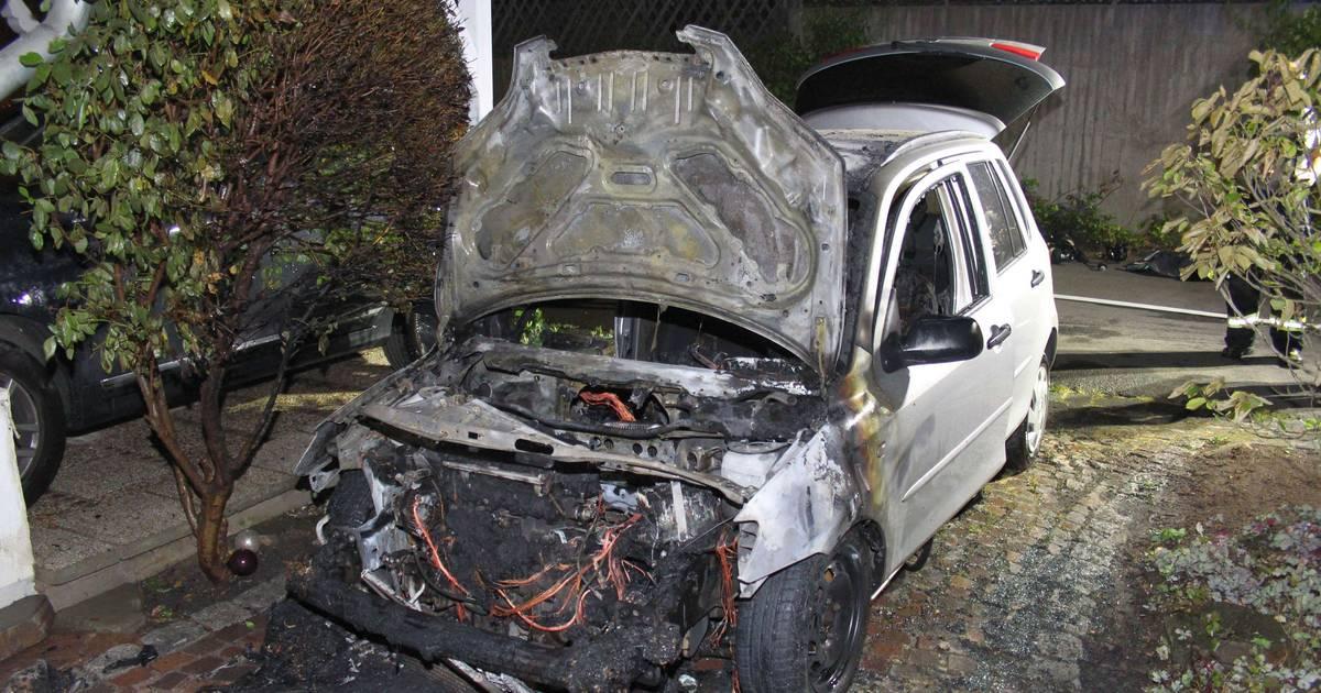 Offenbar technischer Defekt: Auto fängt in Bad Honnef Feuer