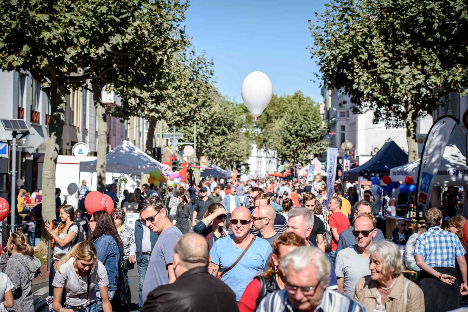 The 37th Poppelsdorf Street Festival attracted