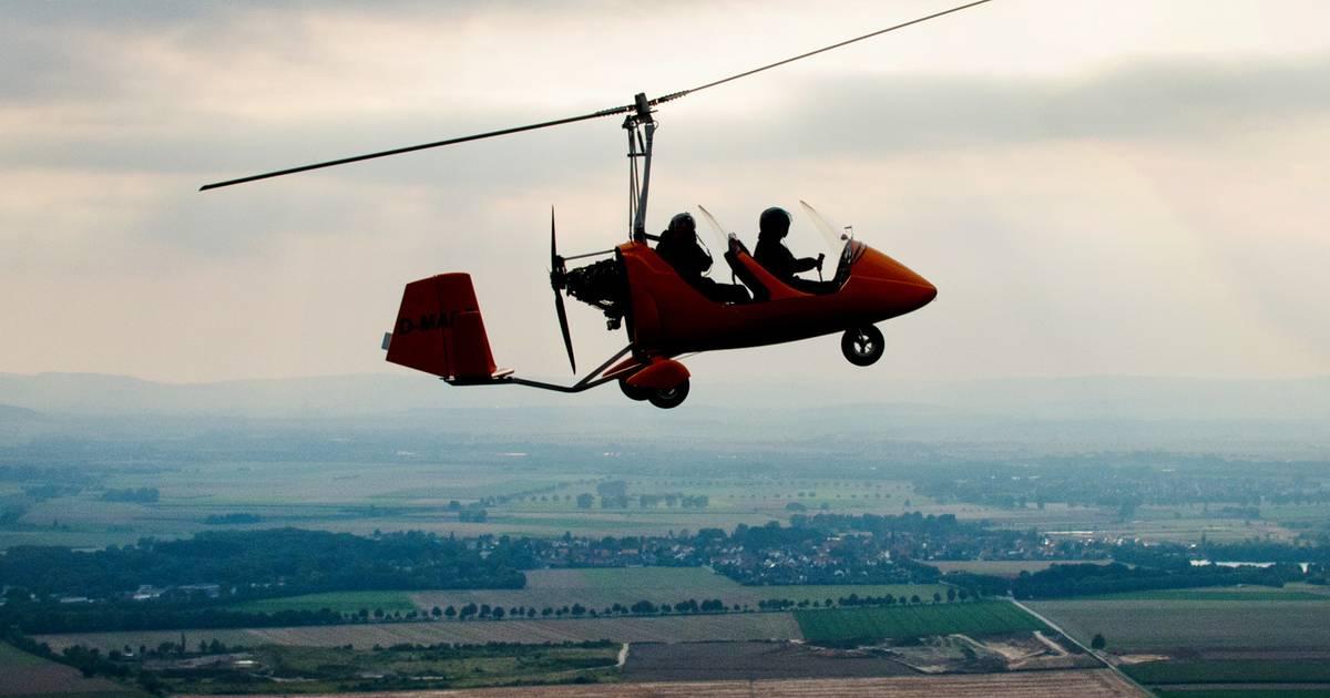 Oberlahr (Wiedtal): Gyrocopter abgestürzt - Zwei Tote
