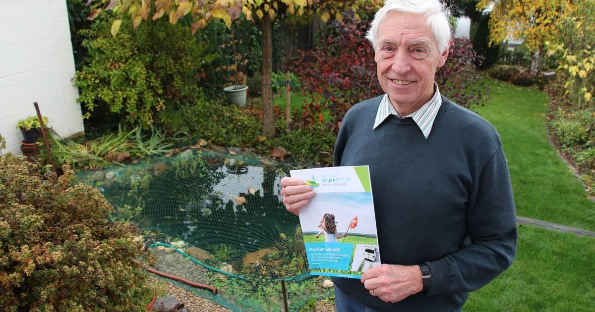 Klimatag in Rheinbach: Hermann Schlagheck schützt das Klima im Linksrheinischen - General-Anzeiger