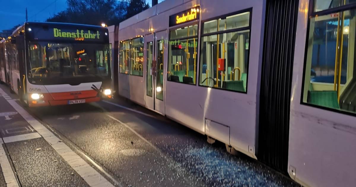 Bonn-Auerberg: Straßenbahn und Linienbus stoßen zusammen - General-Anzeiger