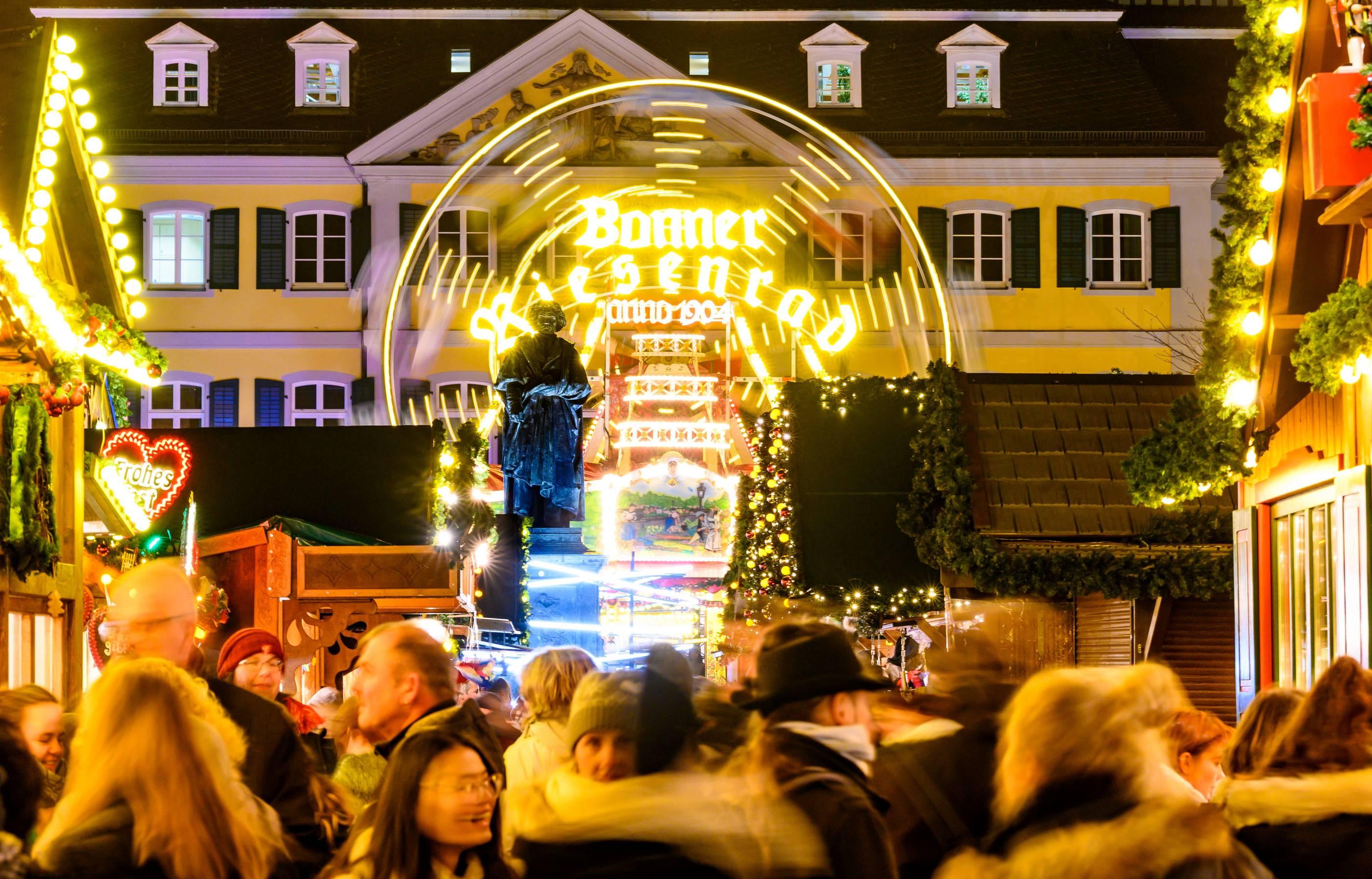 Eröffnung Weihnachtsmarkt Köln 2021