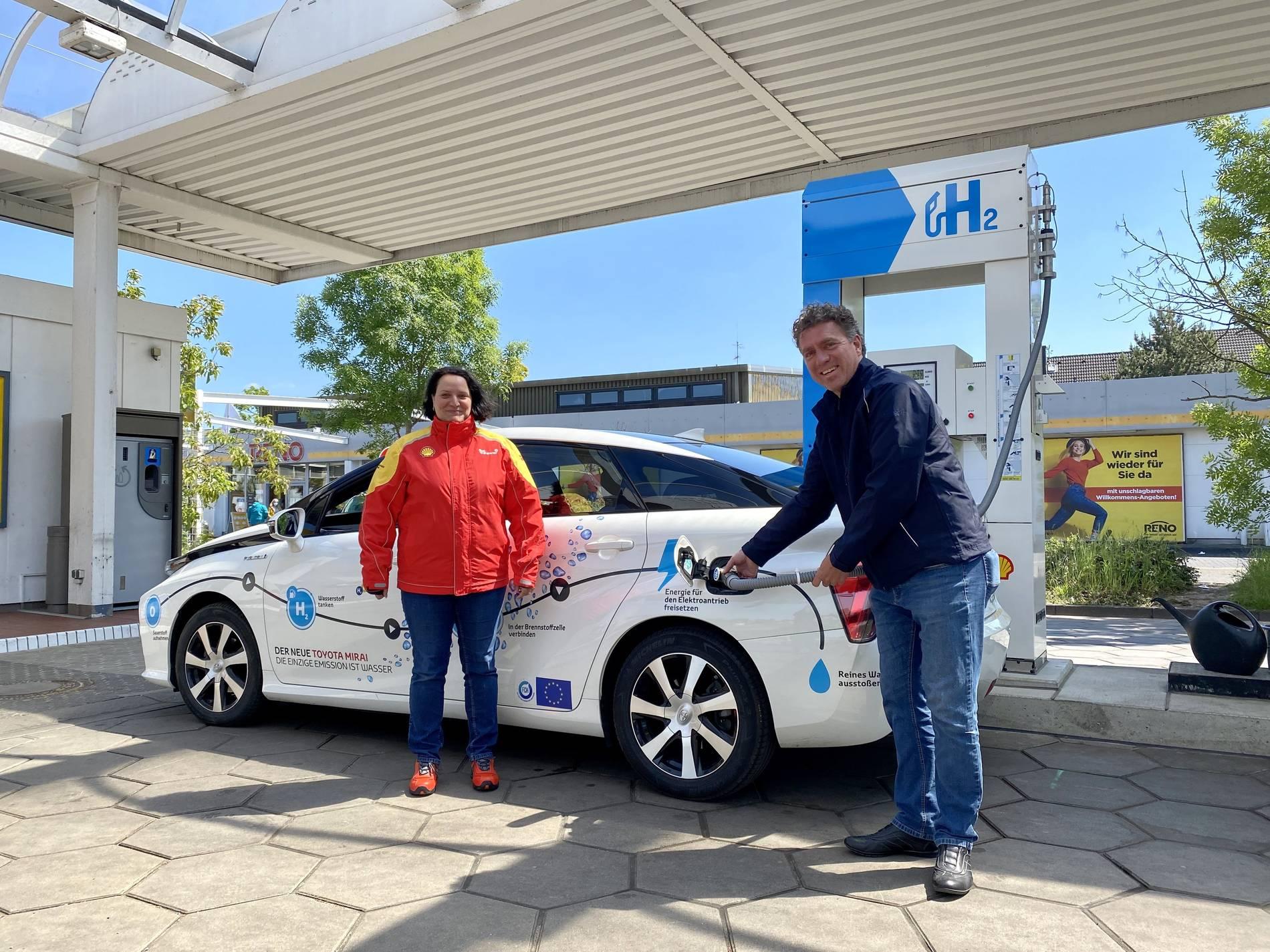Tankstelle in Endenich bietet nun Wasserstoff an