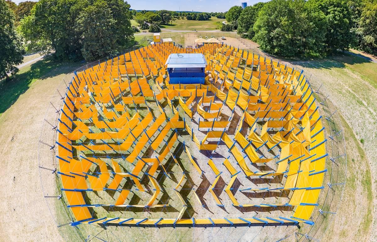 Labyrinth Rheinaue