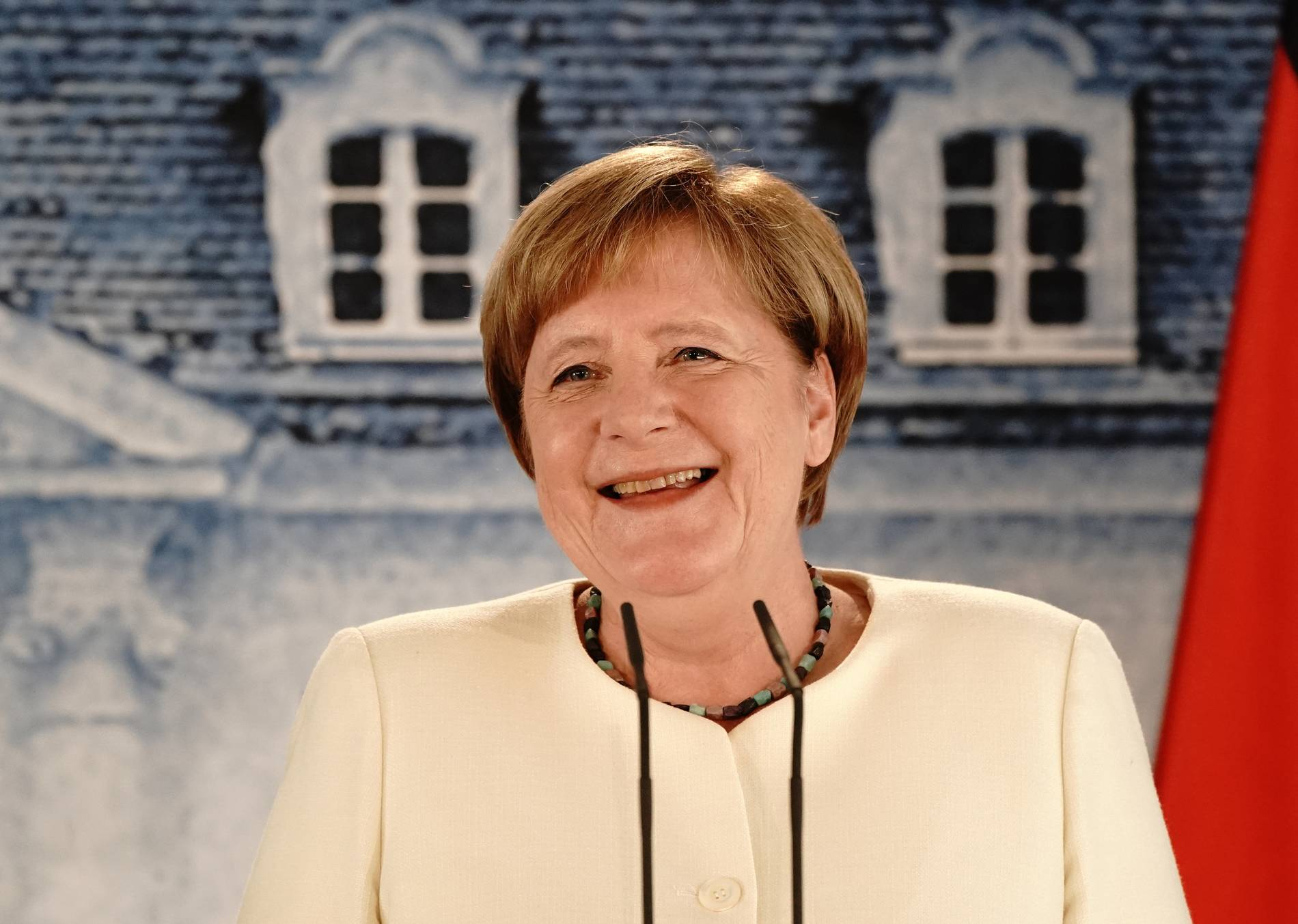 Merkel ohne Mund-Nase-Schutz: