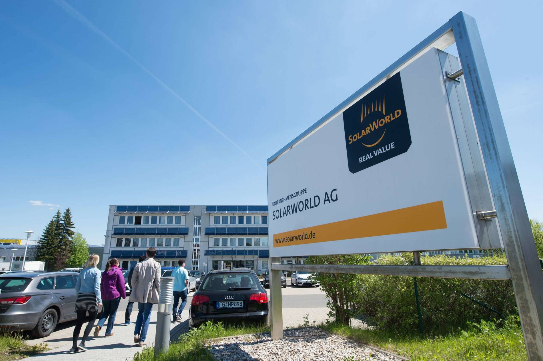Solarworld Freiberg News