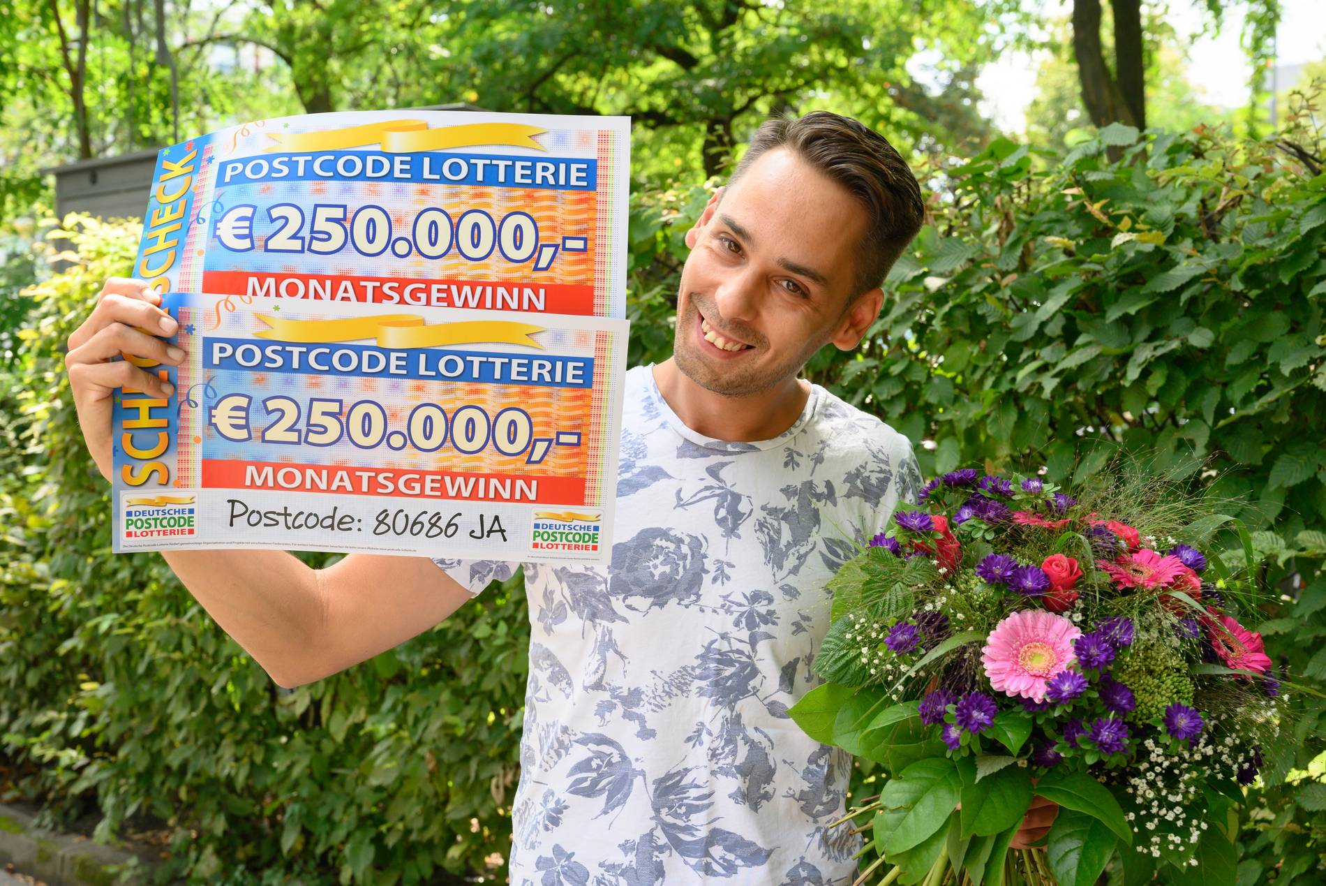 Postcode Gewinner