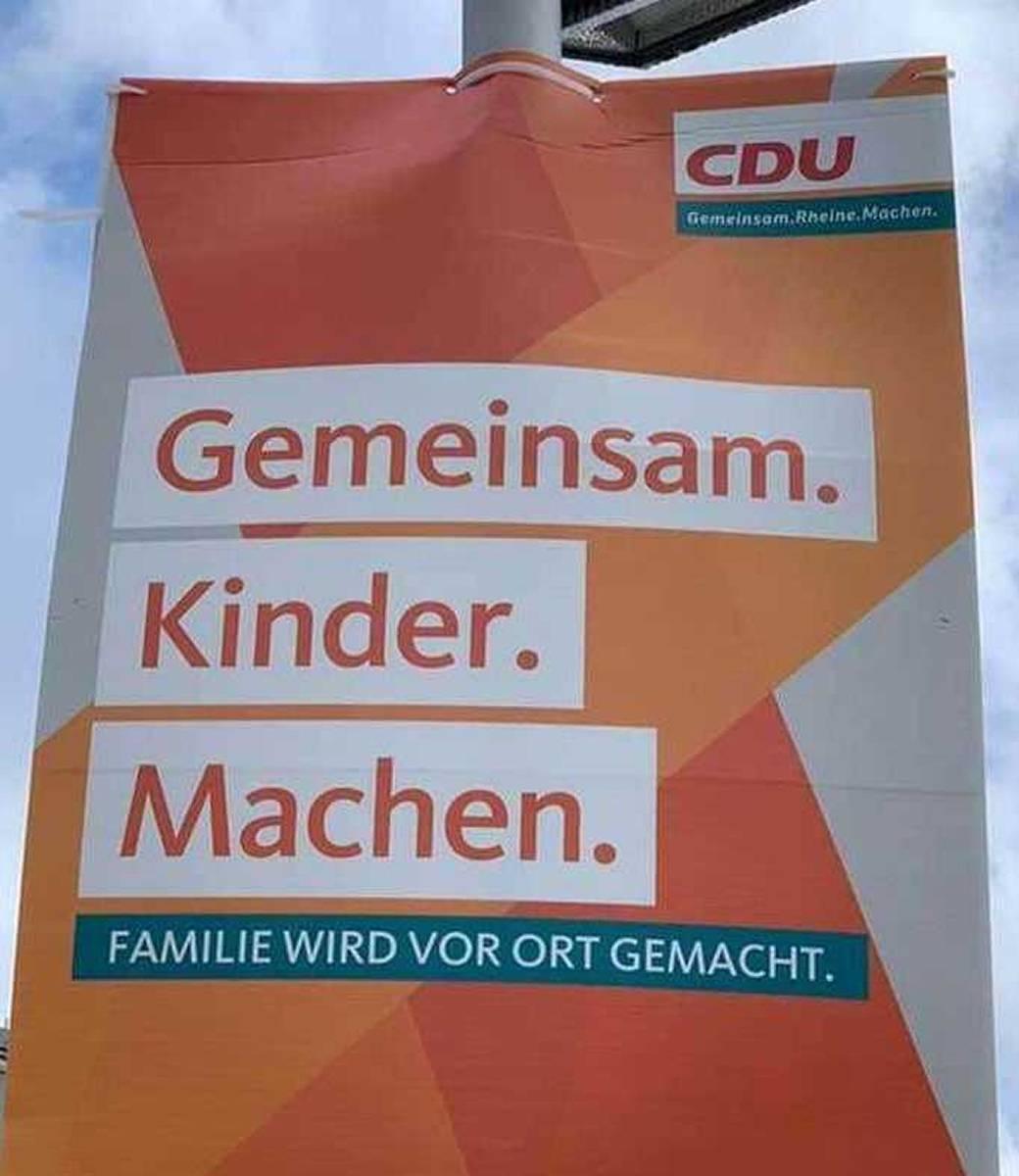 Lustige Wahlplakate Dieser Slogan Ist Eindeutig Zweideutig