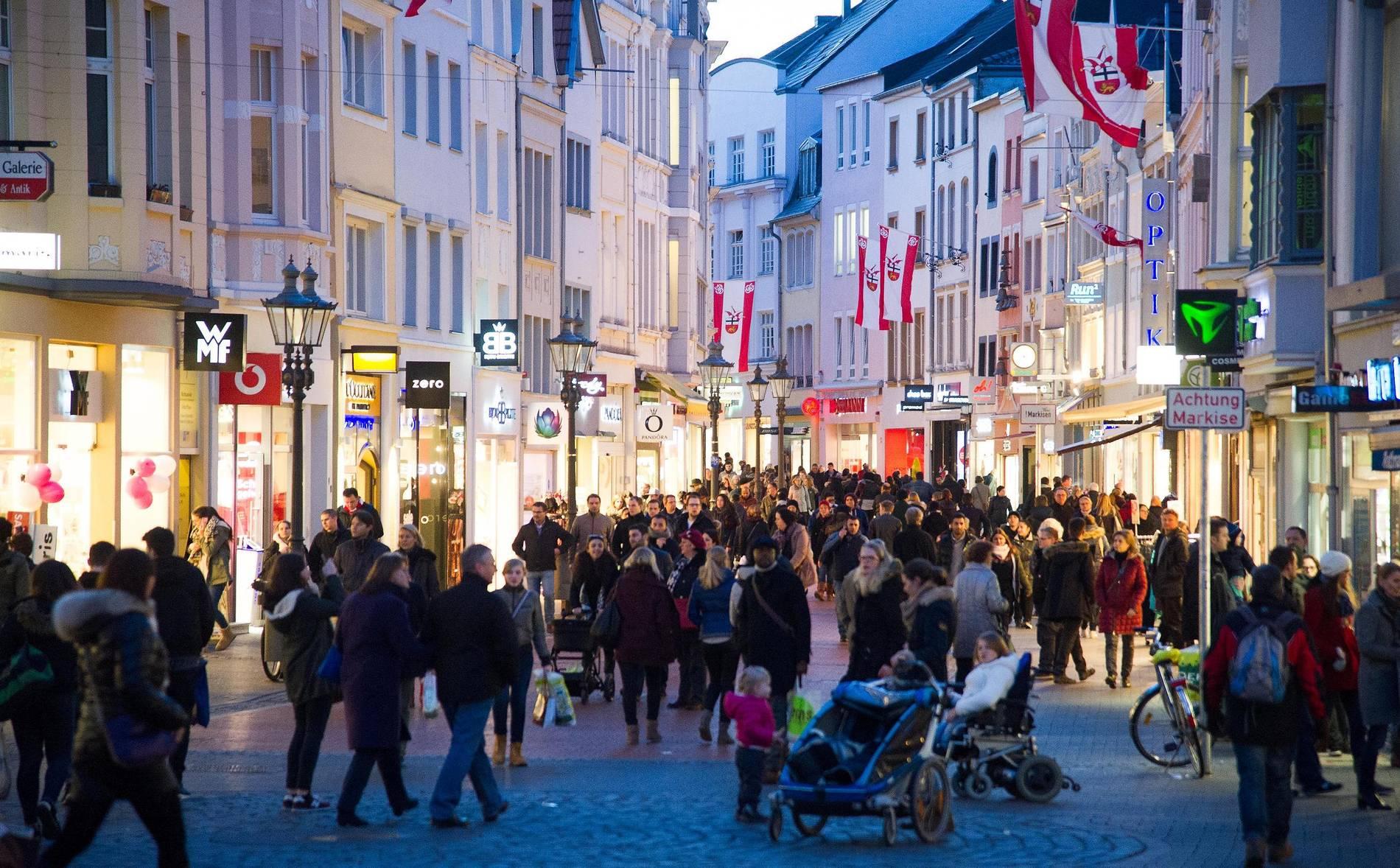 Verkaufsoffene Sonntage Bonn