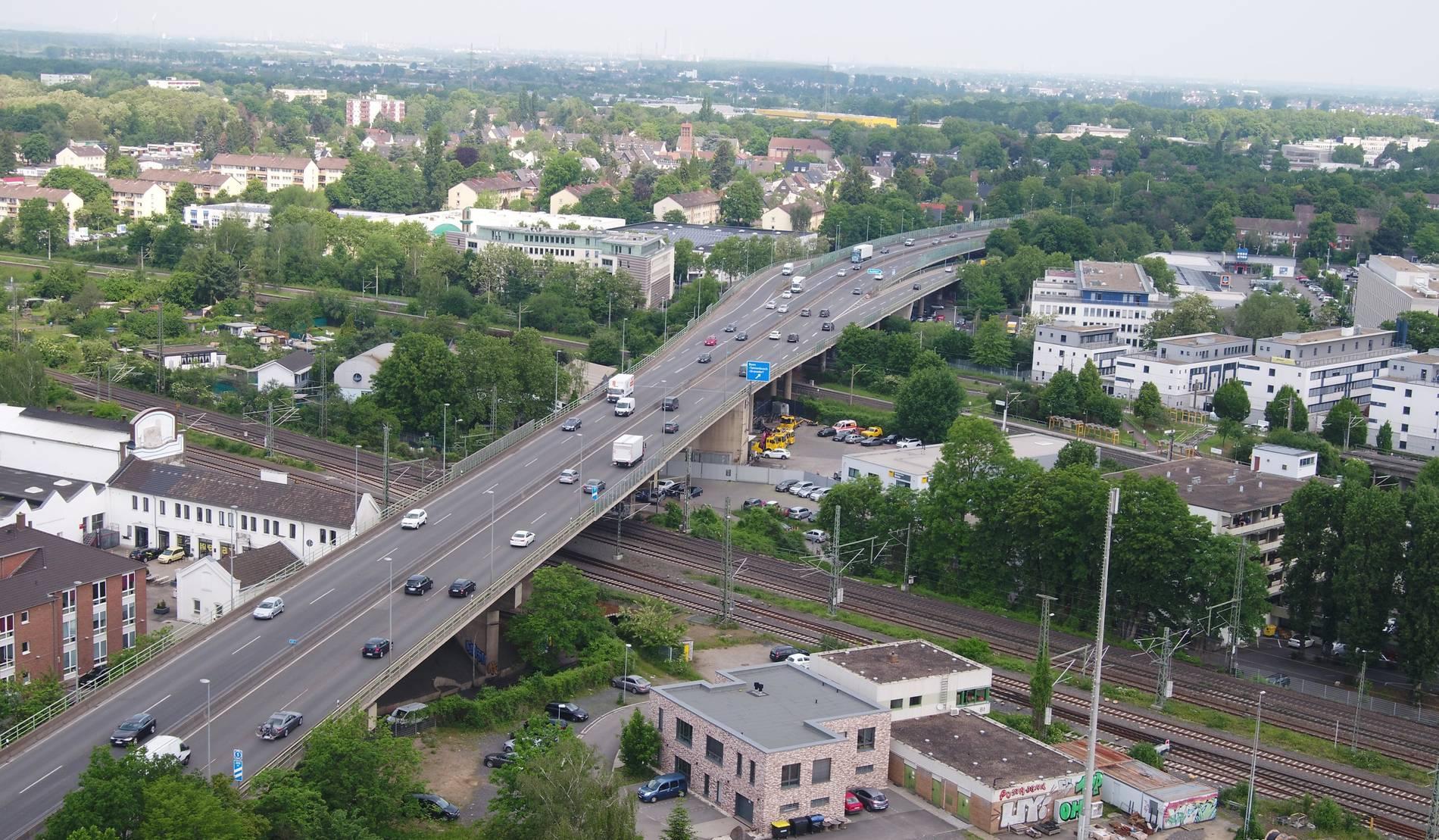 Verkehrslage Bonn